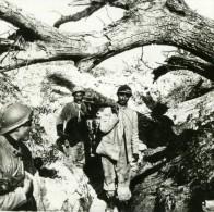 France WWI Corvee De Soupe En Premiere Ligne Tranchee Soldats Ancienne Photo SIP 1914-1918 - Guerre, Militaire