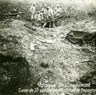 France WWI Fort De Douaumont Canon D'Infanterie De 37 Ancienne Photo SIP 1914-1918 - War, Military