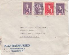 1941 DANEMARK ENV  KOBENHAVN LETTRE  CENSURE => FRANCE/ 1036 - Brieven En Documenten