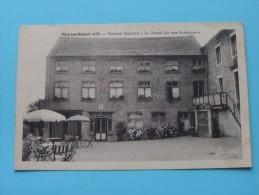 """Ville-lez-Hamoir S/ O PENSION Henrard """" Le Grand Air Des Ardennes """" () Anno 1948 ( Zie Foto Details ) !!"""