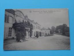 Pensionnat Des Dames Ursulines De Séroule Avenue Entrée Des Parloirs ( Nels ) Anno 1926 ( Zie Foto Details ) !! - Verviers
