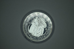 Hongrie Hungary Ungarn Istvan Bocskai Thaler 1605 REPLICA Médaille SILVER + Certificate - UNC / PP - Hongrie