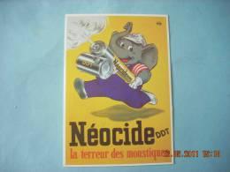 CLOUET    10488  NEOCIDE DDT  Elephant  La Terreur Des Moustiques    Geigy - Advertising