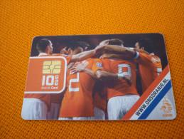 Ajax Amsterdam Arena Stadium Football Chip Card From Netherlands (Oranje Netherlands National Team) - Sport