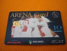 Ajax Amsterdam Arena Stadium Football Chip Card From Netherlands (ABN-AMRO/perfume/parfum/eau De Toilette) - Sport