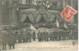Lyon  Raymond Poincaré Président De La République 1914 - Lyon