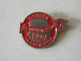 CITROËN  - Valanciennes  Nord - 59  1992 - Badges