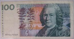 SVEZIA 100 KORONE - Suède