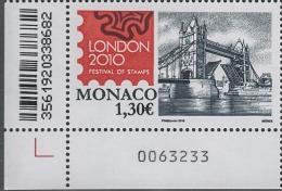 MONACO 2010  - Y.T. 2741 - NEUF** - Monaco