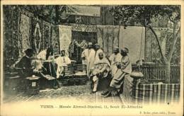 N°696 PPP 381 TUNIS MUSEE AHMED DJAMAL II SOUK EL ATTARINE - Túnez