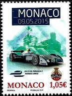 Monaco - 2015 - Monaco EPrix - Formula E Race - Mint Stamp - Monaco