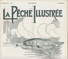 Revue Ancienne La Pêche Illustrée Octobre 1931 - Livres, BD, Revues