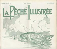 Revue Ancienne La Pêche Illustrée Novembre 1931 - 1900 - 1949