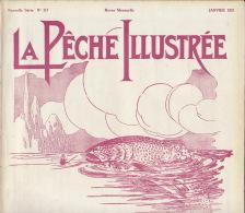 Revue Ancienne La Pêche Illustrée Janvier 1931 - Libros, Revistas, Cómics