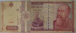 ROMANIA BANCONOTA DA 10000 LEI - Roumanie