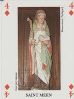 Image Pieuse - Sur Carte à Jouer - SAINT MEEN. - Devotion Images