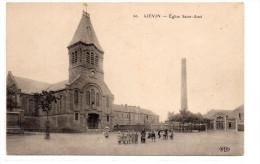 Pas-de-Calais : Liévin : Eglise Saint Amé - Lievin