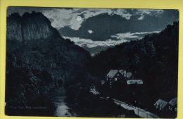 Derbyshire - Matlock Bath, High Tor - Delittle, Fenwick & Co Postcard - 1906 - Derbyshire