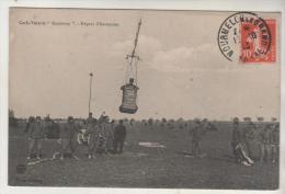 """MOURMELON Le GRAND - Cerfs Volants """" SACONNEY - Départ D'Ascension - Airships"""