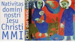 2001 VATICANO LIBRETTO NUOVO CARNET NEW MNH** - Natale - - Libretti