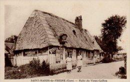 SAINT MARDS DE FRESNE HALTE DU VIEUX CAILLOU - Frankreich