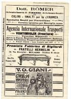 MAPPA ANNI 30 CARTA DELLE FERROVIE ITALIANE -ORARI - PUBBLICITA -ORIGINALE -VEDI ALTRE FOTO - Cartes Géographiques