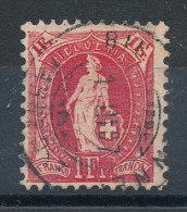 Suisse   N°98 - 1882-1906 Stemmi, Helvetia Verticalmente & UPU