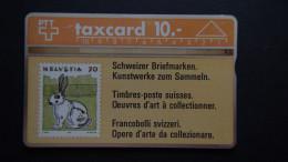 Switzerland - PTT - CHF 10 - Schweizer Briefmarken - Kunstwerke Zum Sammeln - CN:106C - Used - Look Scans - Svizzera