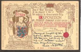 Brugge. Flemish And Ancient Art Exhibition 1902 - Brugge