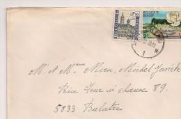 BRIEF LETTRE 1972 CHARLEROI -> 5833 BERLATRE - Bélgica