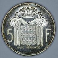 """Monaco 5 Francs 1960 Argent / Silver """" ESSAI """" FDC / UNC - Monaco"""