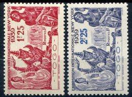 Togo                                   N°  175/176  ** - Togo (1914-1960)