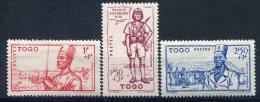 Togo                               N°  208/210   ** - Togo (1914-1960)