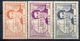 Togo                               N°  172/174   ** - Togo (1914-1960)