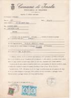 COMUNE DI IMOLA (BOLOGNA) - ASSEGNAZIONE POSTEGGIO INTERNO AUTODROMO FORMULA 1 - DATATA ANNO 1983 - Italy