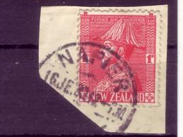 KING GEORGE V-1 D-POSTMARK-NAPIER-NEW ZEALAND-1926 - Unused Stamps