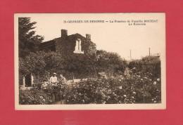 * CPA..dépt 17..SAINT GEORGES De DIDONNE  :  La Pension De Famille BOUZIAT - La Roseraie  :  Voir Les 2 Scans - Saint-Georges-de-Didonne