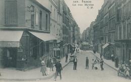 Paris. La Rue Myrha. Scène De Rue - Paris (18)