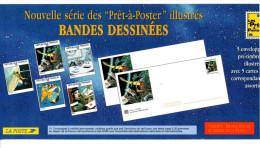 "FRANCE. Prêt à Poster. ""Bandes Dessinées"". (5 Enveloppes + Cartons). - PAP: Sonstige (1995-...)"