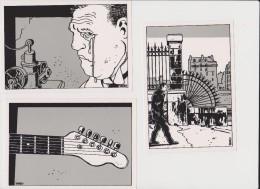 TARDI Série De 8 Cartes Postales FUTUROPOLIS Année 1982 / NEUVES - Cartoline Postali
