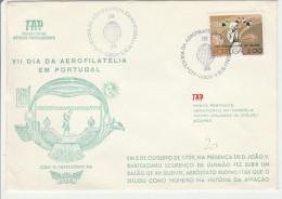 Lisboa 1976 - Ballon Montgolfière - Dia Da Aerofilatelia - TAP - Montgolfières