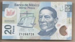 Messico - Banconota Circolata Da 20 Pesos - 2007 - Polimero - Messico