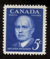 CANADA, 1961,  # 393,  PRIME MINISTER ARTHUR MEIGHEN ,M NH - Blocs-feuillets