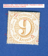ALLEMAGNE TOUR ET TAXIS ANNEE 1862 N° 44 ETATS DU SUD  NEUF GOMME   3 SCANNE DESCRIPTION - Thurn And Taxis