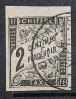 COLONIES GENERALES TAXE N°2 Oblitération De Fort De France, Martinique - Postage Due