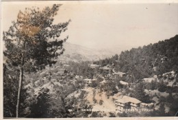 CYPRUS NICOSIA - GENERAL VIEW OF PLATRES - BELLE CARTE PHOTO  - 2 SCANNS -  TOP !!! - Chypre