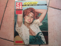 CINE REVUE N° 2 ( JANVIER -1959 ) SYLVIA LOPEZ - ANDREA PARISY  - Dos: JULIETTE GRECO & O. W. FISCHER - Cinéma
