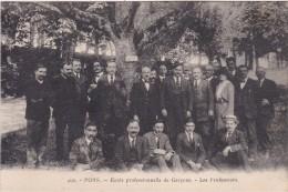 PONS - Ecole Professionnelle De Garçons - Les Professeurs - Pons