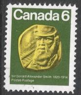 Canada. 1970 150th Birth Anniv Of Sir Donald Alexander Smith. 6c Used. SG 673 - 1952-.... Reign Of Elizabeth II