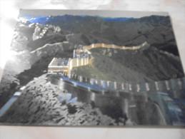 CPM  De  CHINE -  GREAT WALL -  MURAILLE De CHINE -  CARTE BRILLANTE - Chine